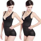 女薄款連體塑身塑形衣服產后收腹束腰燃脂無痕美體瘦身減肚子提臀