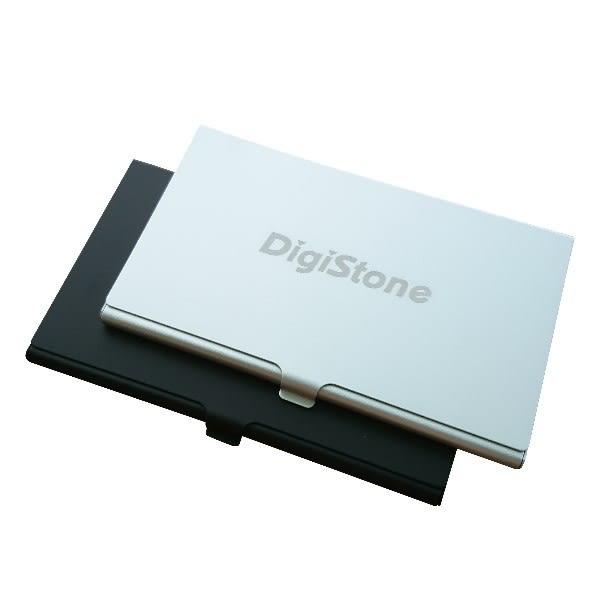 【免運費】DigiStone 超薄型Slim鋁合金 多功能記憶卡收納盒(2SD+4TF)X1P【鋁合金外殼】【防靜電EVA】