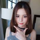 全新設計U型半罩式假髮 韓系氣質短直髮 ...