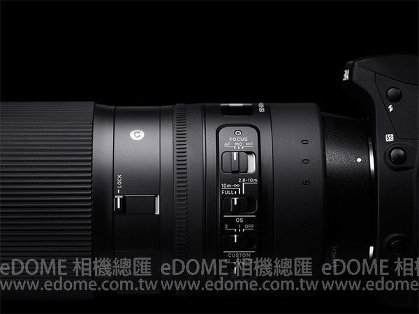 SIGMA 150-600mm F5-6.3 DG OS HSM Contemporary 版 (24期0利率 免運 恆伸公司貨三年保固) 防手震鏡頭 拍鳥