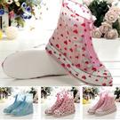 加厚底防水防滑雨鞋套/雨鞋/雨靴(M-2XL)