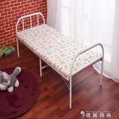折疊床單人床雙人加固型陪護床鋼絲床辦公室午休床簡易木板床  WD 時尚潮流