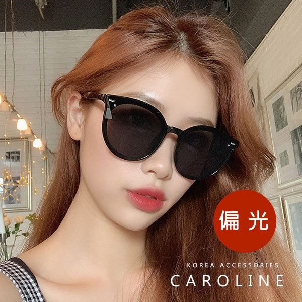 《Caroline》年度最新網紅款潮流行百搭抗UV時尚偏光太陽眼鏡 71627