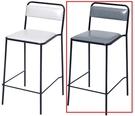 吧檯桌椅 CV-772-2 BY2吧台椅(灰色)【大眾家居舘】