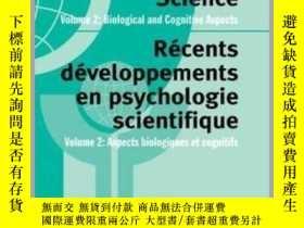 二手書博民逛書店Advances罕見in Psychological Science, Volume 2: Biological