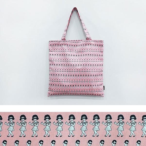 ooh la la 男孩女孩粉紅環保袋