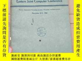 二手書博民逛書店proceedings罕見of the eastern joint computer conference(P26
