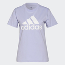 Adidas ESSENTIALS 女裝 短袖 T恤 LOGO 重磅 純棉 紫【運動世界】H07809
