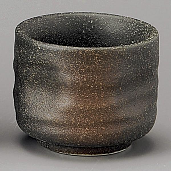 日本陶瓷 美濃燒 備前吹 清酒杯 Sake