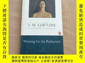 二手書博民逛書店Waiting罕見for the Barbarians(書內有很