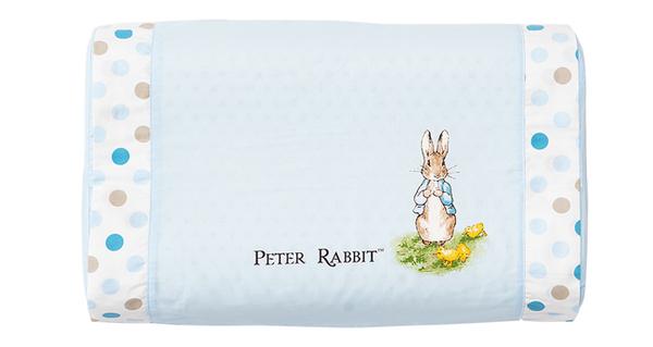 奇哥 花園比得兔 乳膠中童枕/枕頭/乳膠枕(附枕頭套)(藍色)
