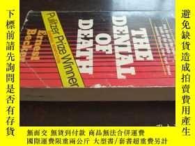 二手書博民逛書店THE罕見DENIAL OF DEATH(否認死亡,36開英文原