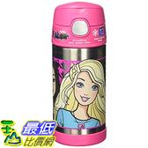 [103美國直購] Thermos 兒童保溫水壺 12-Ounce Funtainer Bottle, Barbie  F4014BA6M $935