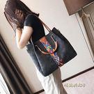 子母包包女上新款水桶包韓版百搭手提包大容量單肩包斜挎大包「時尚彩虹屋」