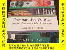 二手書博民逛書店Comparative罕見Politics: Domestic