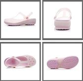 洞洞鞋女夏季新款涼鞋女平底果凍鞋沙灘鞋軟底防滑包頭拖鞋