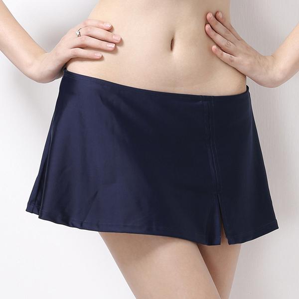 ≡MARIUM≡  大女休閒短裙-藍色 MAR-3092W