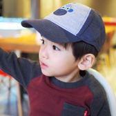 男童棒球帽寶寶帽嬰幼兒童全棉鴨舌帽兒童太陽帽遮陽帽網眼帽春夏 小巨蛋之家