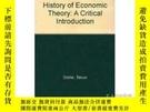 二手書博民逛書店History罕見Of Economic TheoryY255562 Takuo Dome Edward El