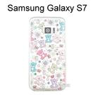 施華洛世奇彩鑽透明軟殼 [熊熊軍團] Samsung Galaxy S7 G930FD