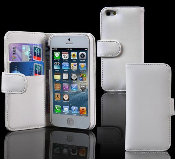 免運 韓國商務平紋 蘋果iphone 5左右開直接皮套 可插卡皮套 保護套(任選二件$900)