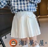兒童百褶裙女童半身裙韓版防走光寶寶裙時尚【淘夢屋】