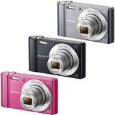 SONY DSC-W810 數位相機 ★原廠相機包+保護貼+小腳架+清潔組+讀卡機!!