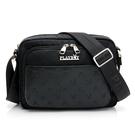 包包前置ㄇ形拉鍊收納袋(內部兩隔層及插袋) 內部插袋*2/筆袋*2 內附鑰匙圈壓扣引繩,可固定鑰匙
