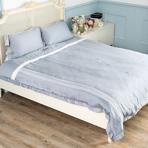【Jenny Silk名床】夢想起飛.100%天絲.超柔觸感.雙人兩用鋪棉被套