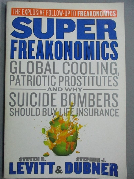 【書寶二手書T3/社會_XEO】Superfreakonomics: Global Cooling, Patriotic