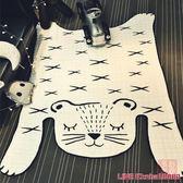 地毯ins北歐老虎造型地墊裝飾地毯寶寶爬行墊游戲墊客廳臥室創意家居 MKS年終狂歡