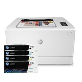 【搭215A原廠碳粉匣一黑三彩】HP Color LaserJet Pro M155nw 彩色雷射印表機 保固一年 登錄送禮卷