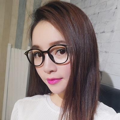 鏡框(全框)-韓版時尚氣質百搭男女平光眼鏡9色73oe21[巴黎精品]