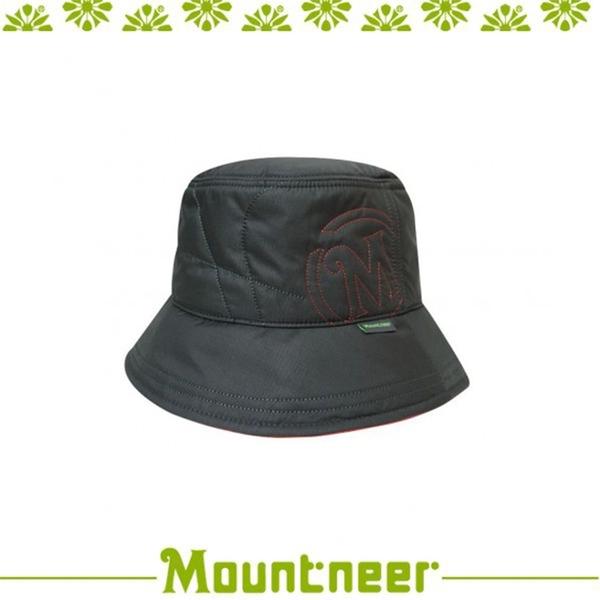 【Mountneer 山林 中性3M鋪棉保暖筒帽《深灰》】12H06/保暖帽/戶外/登山