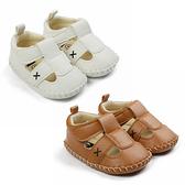 半膠底涼鞋 鏤空包頭防踢學步鞋 男寶寶 女寶寶 百搭嬰兒鞋 88305