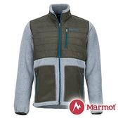 【Marmot】男 Mesa 纖維保暖外套『灰/墨綠』43950 戶外 休閒 登山 露營 保暖 禦寒 防風 夾克
