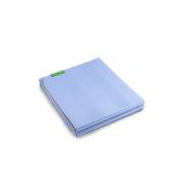 摺疊式5mm雙面止滑TPE瑜珈墊--紫