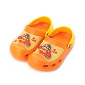 救援小英雄 羅伊電燈園丁鞋 橘 POKS91038 中大童鞋 鞋全家福