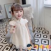 女童連身裙夏裝兒童旗袍裙公主裙夏季女寶寶裙子【淘嘟嘟】