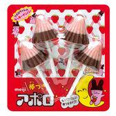 明治阿波羅棒型巧克力 26g【愛買】
