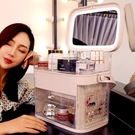 網紅化妝品收納盒防塵護膚品