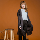 ●台灣製●垂墜感針織外套-大尺碼 獨具衣格