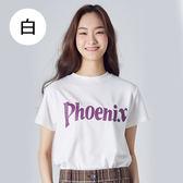 【潮流瘋】799T8001*100%圓領純棉英文字母圓領T恤