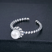 戒指 925純銀-流行時尚生日情人節禮物女飾品73dx117【時尚巴黎】