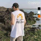 背心 正韓 夏季落日夏威夷風 平肩背心【PAA288】現貨+預購 Doppler