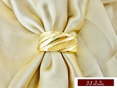 9999純金 黃金金飾 簡單素雅 訂婚 結婚 婚戒 黃金戒指