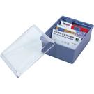 【W.I.P】名片整理盒(400名) FW400 (10入) (名片盒/名片收納/名片簿/名片本)