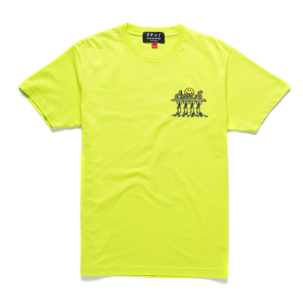 Deus Ex Machina  Bench Press Tee T恤 (螢光黃)