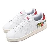 adidas 休閒鞋 Advantage 白 紅 小白鞋 女鞋 動物 【PUMP306】 EH3425