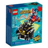 樂高積木LEGO 超級英雄 迷你車系列 76092 蝙蝠俠vs.小丑女 哈莉·奎茵